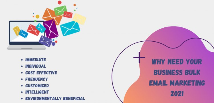 Why Need Your Business Bulk Email Marketing 2021